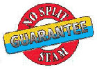 No split-seam guarantee
