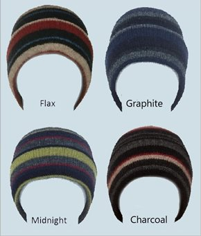MX201 - Possum Striped Beanie