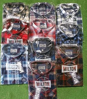 6703 - Flannelette Shirt Half Button
